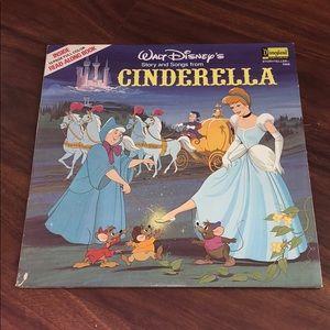Cinderella Walt Disney record